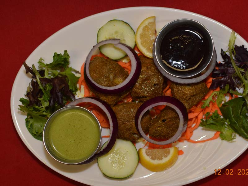 Boti Kabab| Indian Restaurant Rajaji curry house in NW DOWNTOWN,  WASHINGTON DC