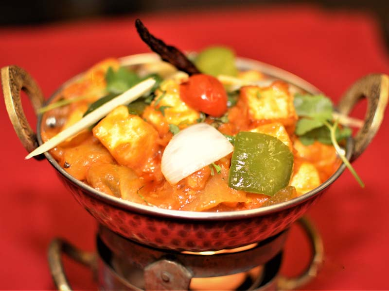 Kadhai Paneer | Indian Restaurant Rajaji curry house in NW DOWNTOWN,  WASHINGTON DC