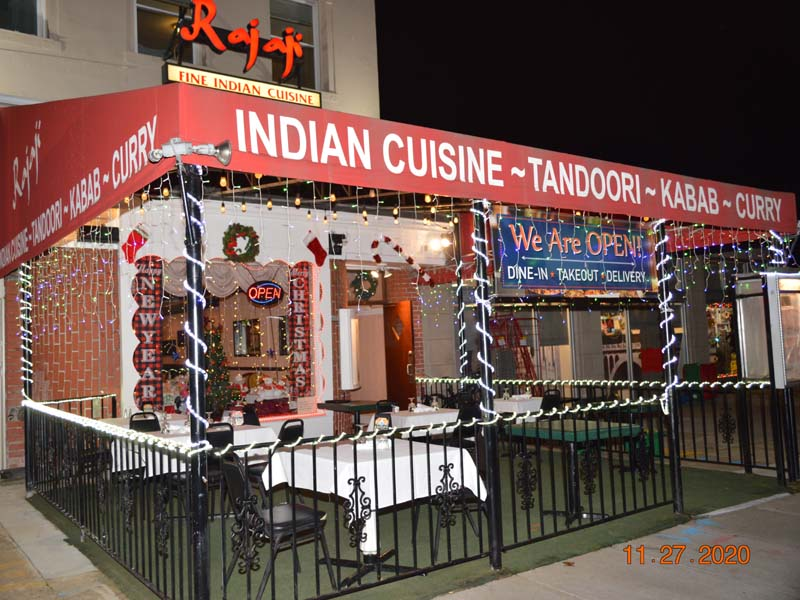 Indian Restaurant Rajaji curry house in NW DOWNTOWN, WASHINGTON DC 20008